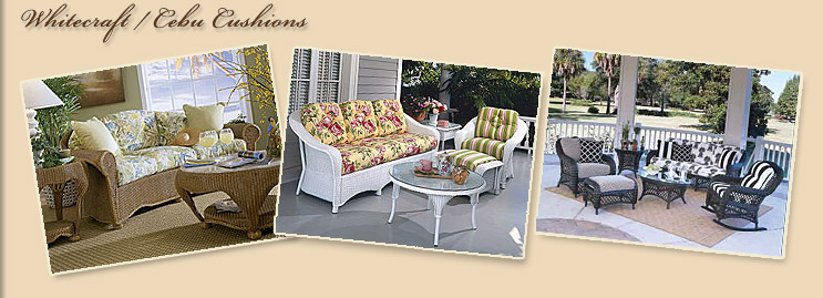 Whitecraft & Cebu Cushion Collections include Tesoros, Paradiso, Giardino,  Bravo & Empire outdoor furniture. We have other collections available such  as ... - Whitecraft - Cebu Replacement Cushions, O.E.M. Manufacturer